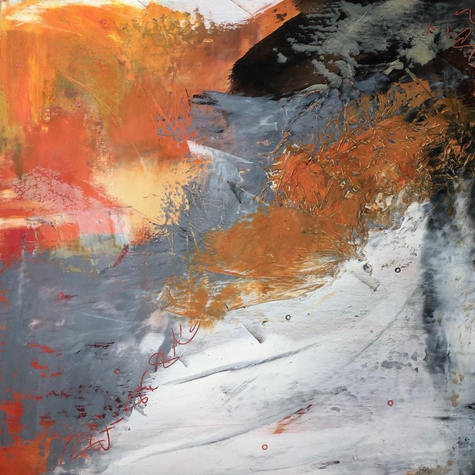 Black, White and Orange #2
